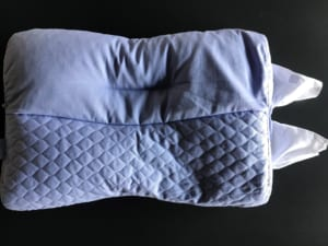 東京西川の枕「もっと肩楽寝」高さ調節パイプは2箇所から