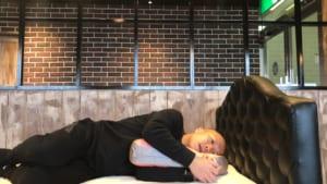 スリープバンテージ試してみた抱き枕