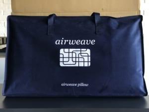 エアウィーヴの枕 トートバッグ