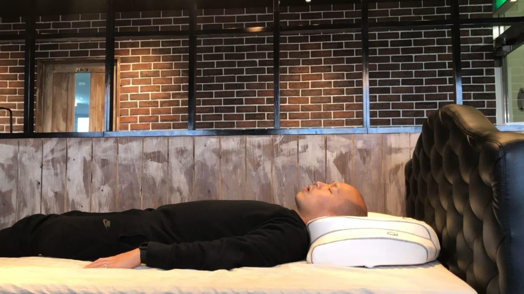 横寝枕YOKONE3 仰向け寝