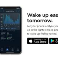 Sleep Cycle公式サイトの図